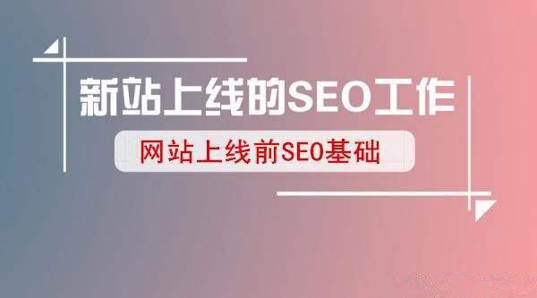 新网站上线怎么做SEO